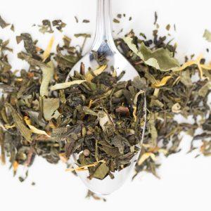 MANDARINE VERVEINE – Thés vert et blanc