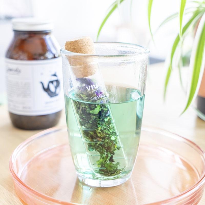 Infuseur verre infusion bio GreenMa