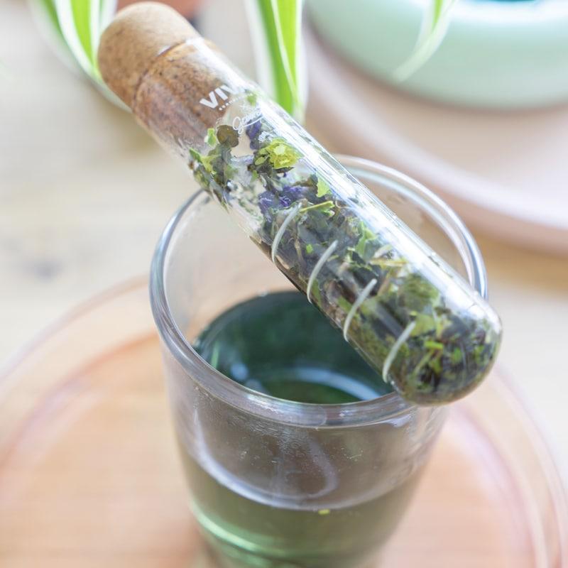 photo infuseur verre GreenMa infusion bio