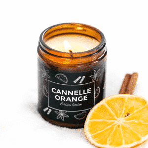 BOUGIE CANNELLE-ORANGE