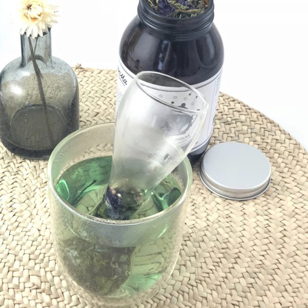 photo infuseur verre perforé infusion bio GreenMa green lifestyle