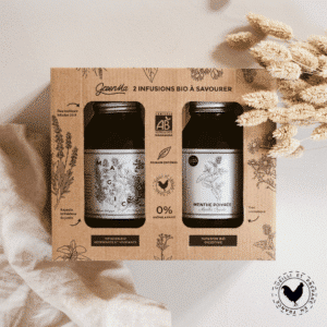 Coffret 2 infusions bio origine France