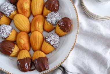 Vos recettes – Madeleines au Thé Noir Orange Sanguine d'Amélie