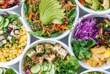 Vos recettes – Les salades de Julie